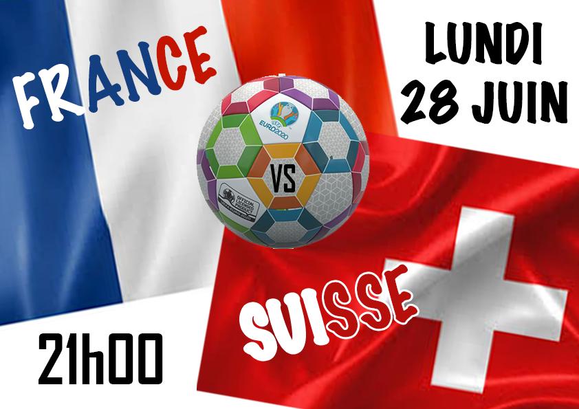 FRANCE / SUISSE en direct
